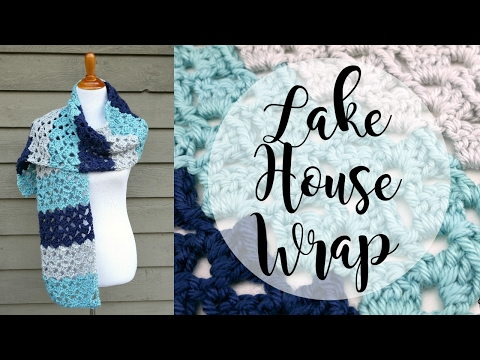 How To Crochet the Lake House Wrap, Episode 377