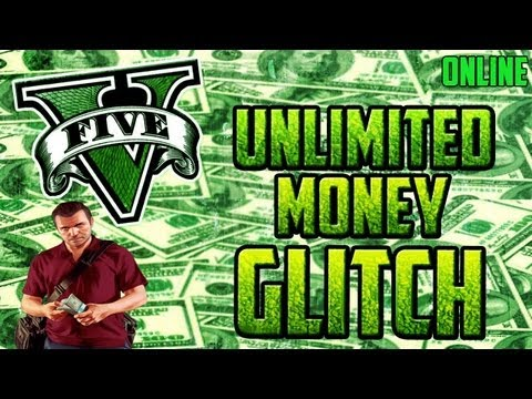 "NEW ""GTA 5 Online"" - Unlimited Money Glitch After Patch - Unlimited Cash Glitch (GTA V Glitches)"
