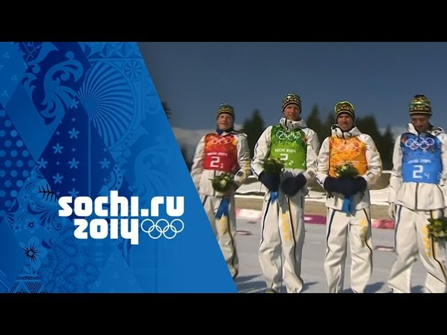 Cross-Country Skiing - Men's 4x10km Relay - Sweden Win Gold | Sochi 2014 Winter Olympics
