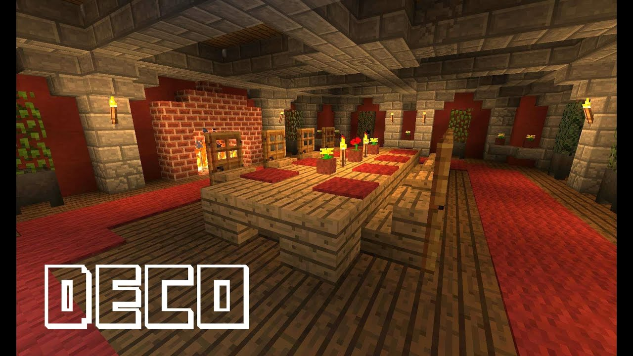 deco interieur minecraft. Black Bedroom Furniture Sets. Home Design Ideas