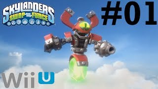 Skylanders SWAP Force Wii U Co-Op- Chapter 1: Mount