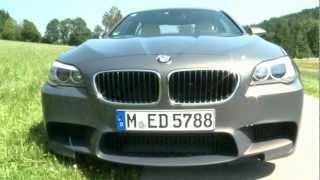 BMW M5 - 300 km/h auf der Autobahn - ohne Stress videos
