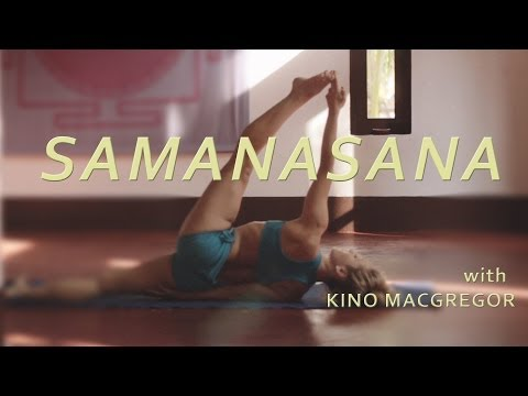 Samanasana with Kino Macgregor (Fourth Series Ashtanga Yoga Demonstration)