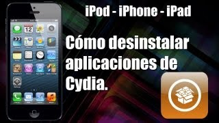 Cómo Eliminar Aplicaciones De Cydia IPod / IPhone