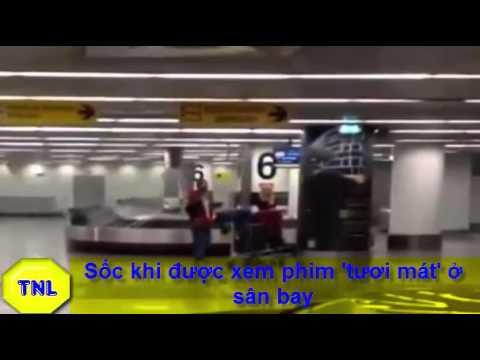 Sốc khi được xem phim 'tươi mát' ở sân bay- Tin mới- Thích Nhất Là
