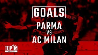 Our Top 5 Goals away to Parma