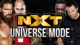 WWE Universe Mode Debut Of NXT! (Episode 1)