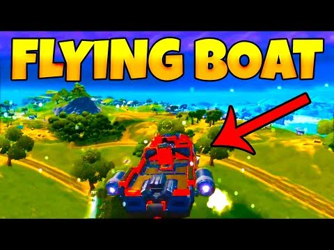 *NEW FLYING BOAT GLITCH* Fortnite Chapter 2 Highlights & Funny Moments