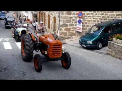 Défilé de Vieux Tracteurs - Reboule 2014 - Arlebosc