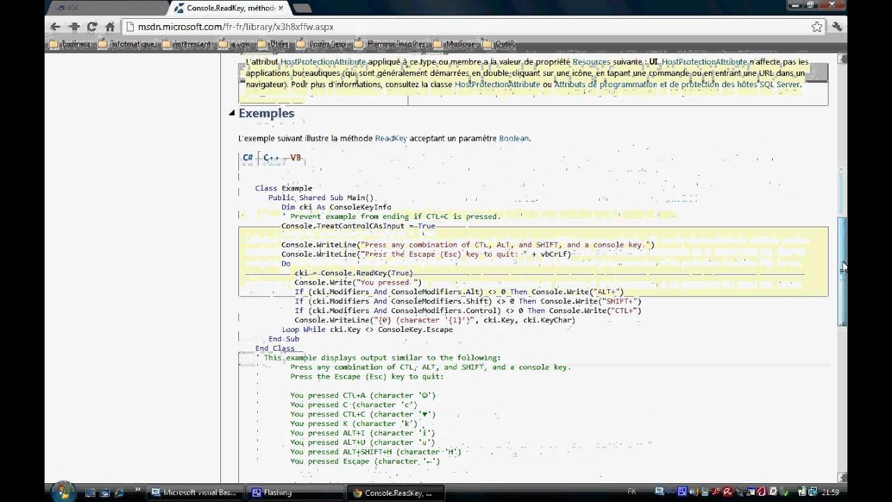 Comment utiliser la documentation avec visual basic express 2010 youtube - Comment utiliser la filasse ...