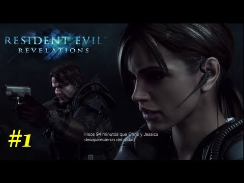 Resident Evil: Revelations HD Walkthrough - 01 - Capitulo 1 Ingles Sub Español *Huellas* PS3/360