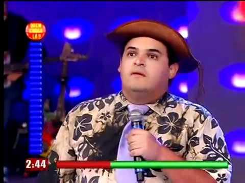Matheus Ceara Final Quem Chega la Faustao 21/11/2010