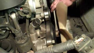 LS Type Vortec V8 Water Pump Replacement (part 1)