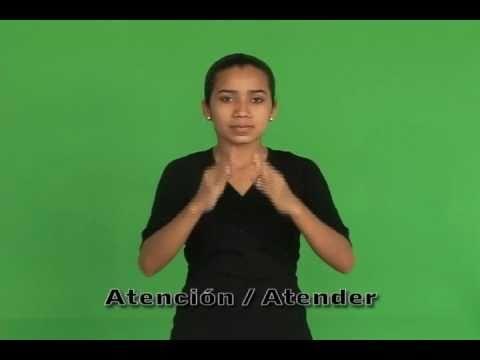 Alfabeto Manual - Lenguaje de Señas.mpg