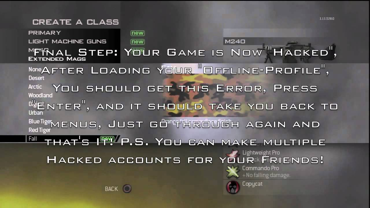 how to get aimbot in mw3 ps3 no usb