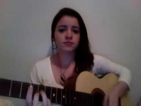 Juliana oliveira tocando Hoje eu só quero que o dia termine bem