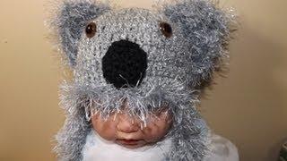 Crochet Gorrito Koala