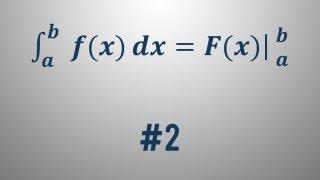 Newton-Leibnizova formula – primer 2