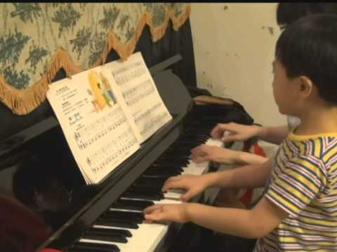 Oh !  Pa Pa -Piano four hands