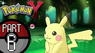 Pokemon X And Y Part 6: Santalune Forest Catching A