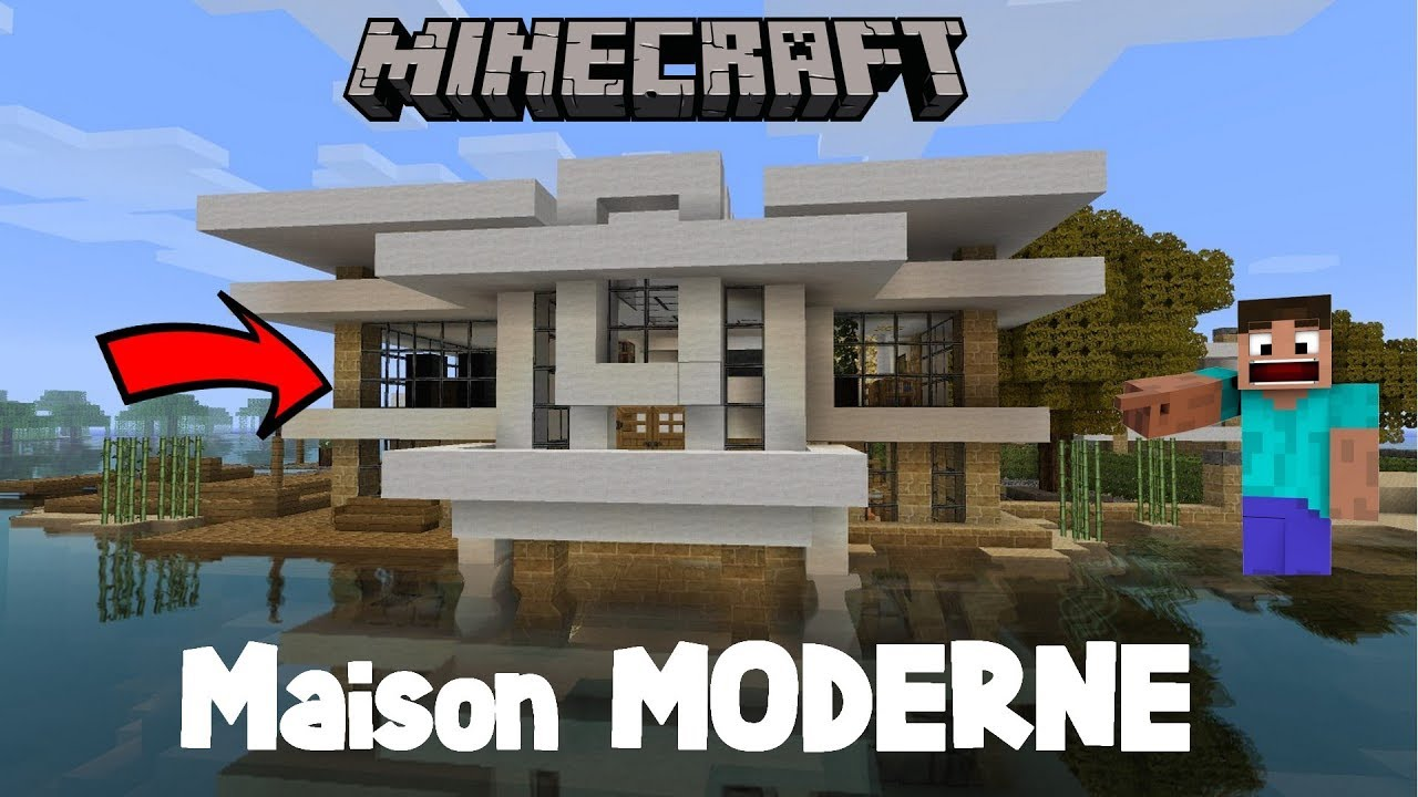 Belle Maison Minecraft : Tuto faire une belle maison minecraft en survie youtube