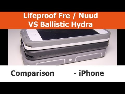 iPhone 5 Cases - Comparison - Lifeproof Fre VS. Lifeproof Nuud VS. Ballistic Hydra