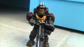 HALO REACH MEGA BLOKS EMILE-KAT-NOBLE6 PART 2 AND JORGE