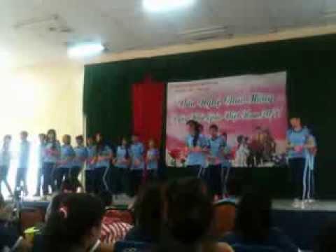 Nhảy dân vũ Nối Vòng Tay Lớn - Lớp 10A1 - THPT Vĩnh Lộc - 9.11.2013