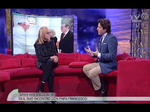Rita Pavone a TV2000. L'udienza privata con papa Francesco
