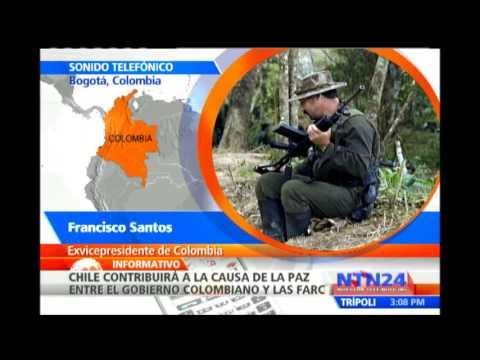 Principales actores de las negociaciones de paz entre Colombia y las Farc