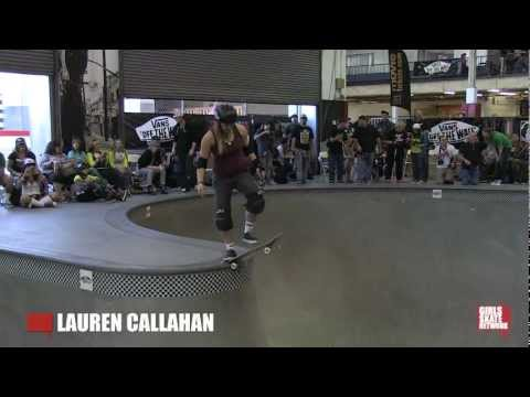 Lauren Callahan - Vans Girls Combi Pool Classic 2013