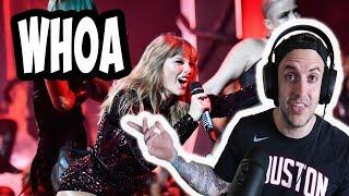 "Taylor Swift ""I Did Something Bad"" Live 2018 AMA REACTION"
