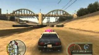 Midnight Club LA Chevy Impala LAPD Wrecking Cruise