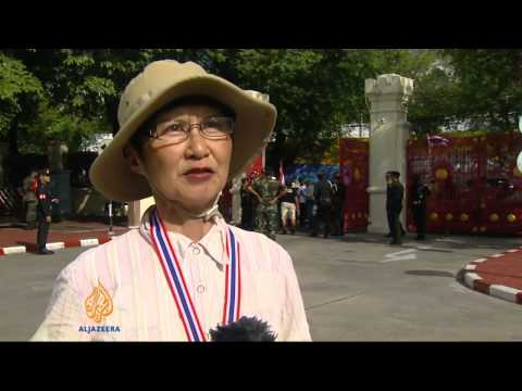 Protesters in Thailand seek military support