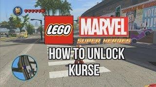How To Unlock Kurse LEGO Marvel Super Heroes