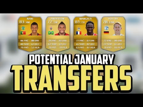 FIFA 14 | Potential January Transfers! - Mangala, Nani, Holtby & Anderson