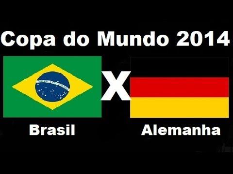 Brasil 1 x 7 Alemanha -Humilhante Semifinal - Copa do Mundo 2014 - Jogo Completo Audio TV Globo