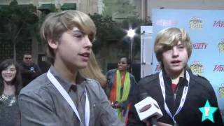 Sprouse Twins On Valentine's Day & Their First Kisses