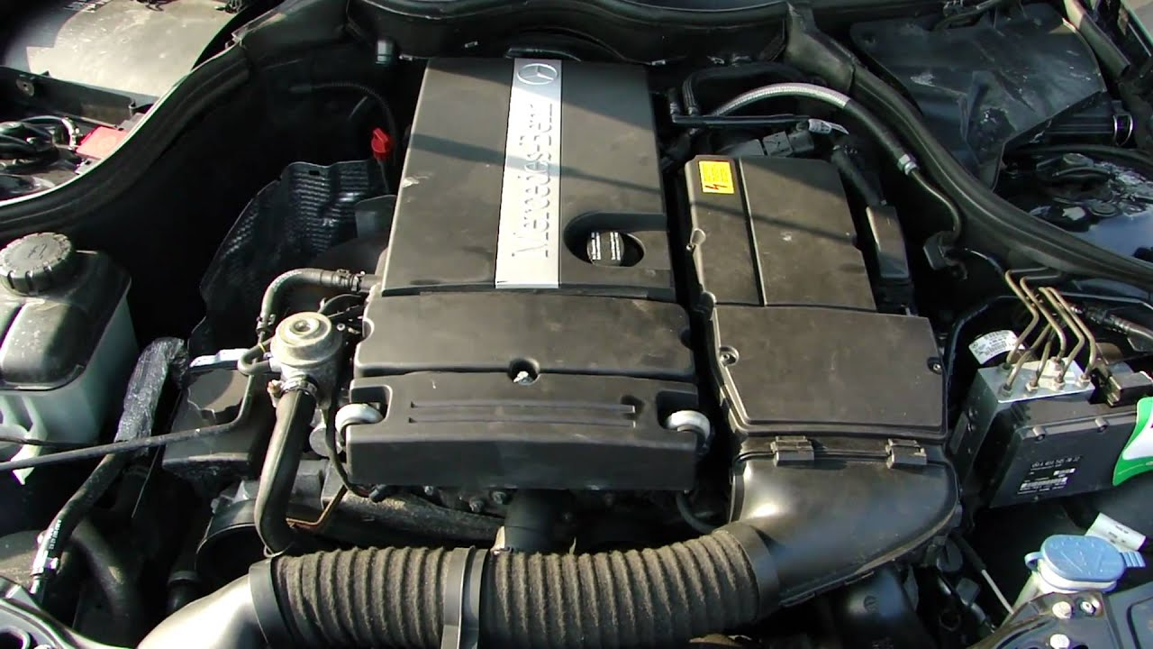 Mercedes 1 8l M271 Vvt