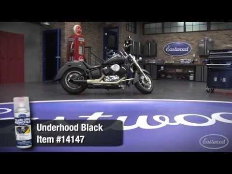 2K Ceramic Aerosol Underhood Black from Eastwood