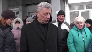 Встреча народных депутатов с жителями Лисичанска переселенцами