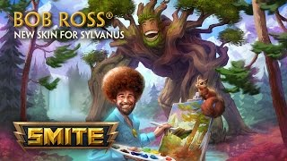 SMITE - New Skin for Sylvanus: Bob Ross