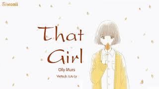 [Vietsub + Kara] That Girl - Olly Murs (lyrics) - Tik Tok