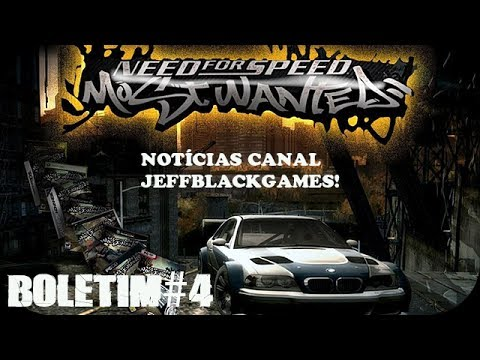 Need For Speed Most Wanted - Gameplay novo Canal jeffblackgames