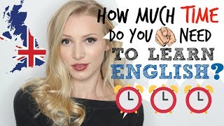 How long SHOULD it take to learn English? | 3 months of FREE daily English lessons #Spon