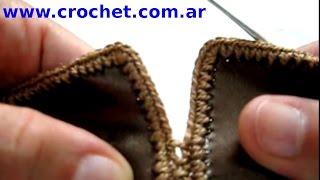Como Unir Piezas De Cuerina Con Tejido Crochet Tutorial