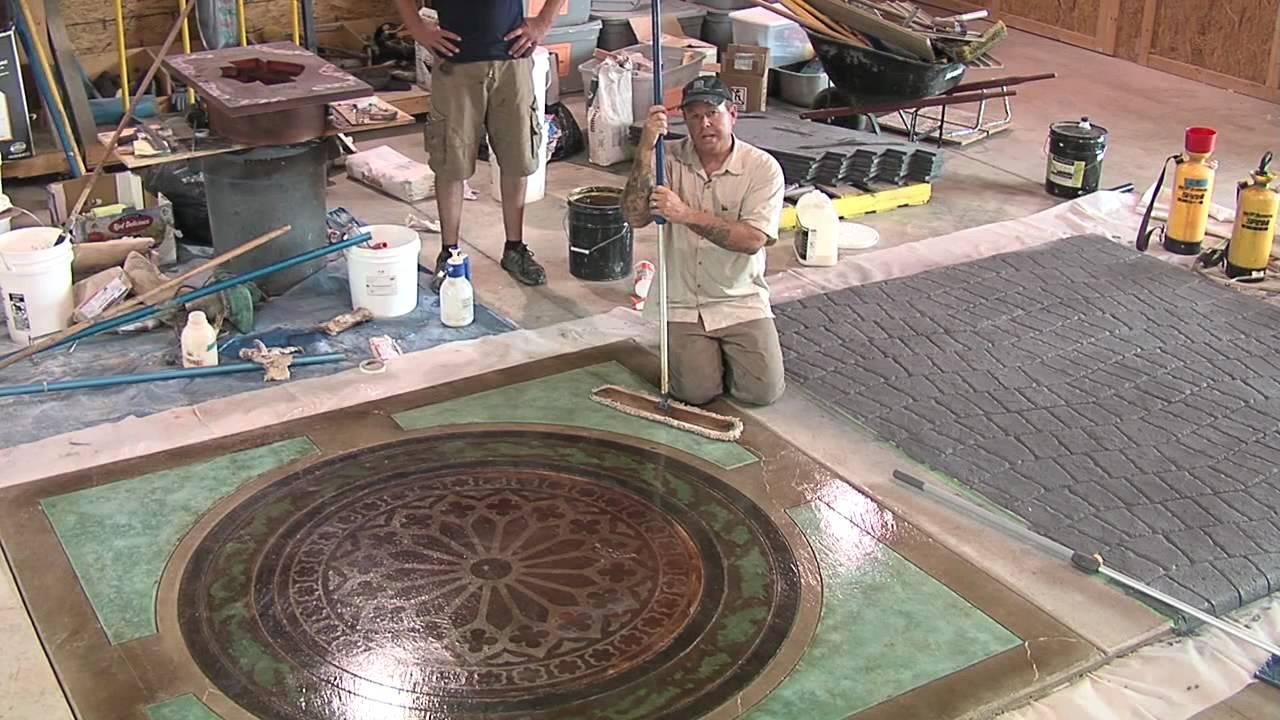 Concrete Floor Wax : Concrete floor wax youtube