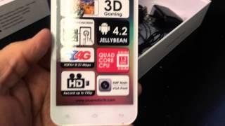 BLU STUDIO 5.5 D610A Unboxing Video CELLPHONE In Stock