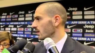 Juve, Bonucci: 'Poco attenti, ma complimenti a loro'