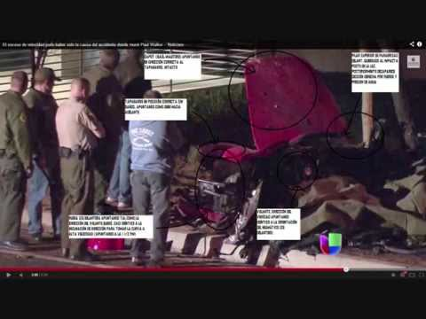 Paul Walker accident crash and die, before after last lap, images scenes porsche carrera gt